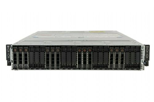 Dell C6400 + 4x C6420 w/ 2x 20C Gold 6138 128GB Ram 8.72TB Storage Node Server